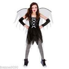 Angel Halloween Costumes Girls Girls Teen Scary Fairy Death Angel Goth Halloween Fairytale Fancy