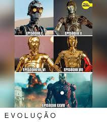ã O Meme - fatos nerd episodioi episodioii episodio iii vi episodiovii episodio
