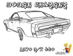 dodge charger free coloring pages on art coloring pages