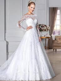 robe de mariã e manche longue dentelle robe dentelle blanche mariage prêt à porter