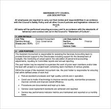Accounting Assistant Sample Resume by Staff Accountant Job Description Junior Accounting Clerk Job