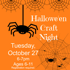 halloween craft night tales from an open book