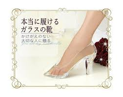 cinderella light up shoes size 7 8 girls can now live the cinderella story with replica japanese glass