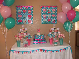 zebra print baby shower1 year birthday party locations sweet revelry girlie turquoise and pink party