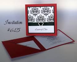 Red Wedding Invitations Virtual Magazine Red Black And White Wedding Invitations