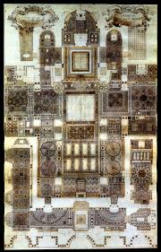 floor plan of the basilica san marco basilica di san marco
