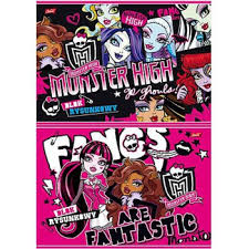 monster high sketchbook 4 20lap from wholesale and import