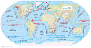 World Plate Boundaries Map 4 plate tectonics and ocean currents gmhs rshorey
