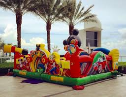 disney mickey park bounce house rentals miami broward palm