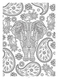 321 colouring elephants zentangles images