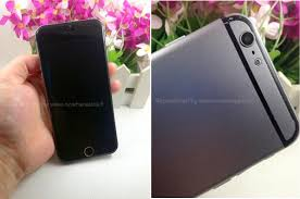 dummy unit shows the iphone 6 may look like a bigger iphone 5s