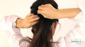 model rambut sanggul simple tren model gaya rambut wanita korea youtube