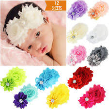 baby flower headbands baby headbands flower crochet pastel ebay