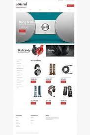 website template 48298 templatemonster pinterest template