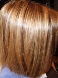 bolnde highlights and lowlights on bob haircut golden blonde highlights w golden brown lowlights on golden brown