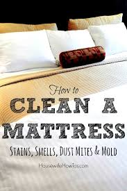 how to clean house fast and efficiently clean your mattress with baking soda tips video tutorial