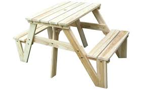 Collapsible Picnic Table Wood Picnic Table Diy Collapsible Octagon Building Plans Sm 31565