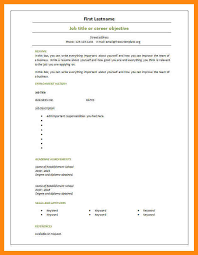 Blank Resume Template Download Blank Cv Resume Template 5 Free Resume Templates Livecareer