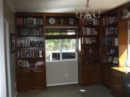 built in bookshelves fit around window cabinet wholesalers