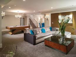 Ideas For Finished Basement 22 Finished Basement Contemporary Design Ideas Basement Designs