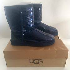 ugg s roni shoes black ugg s roni moccasin midnight blue 9 ebay