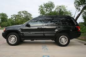 2004 jeep grand cherokee limited 4x4 103k blk blk loaded