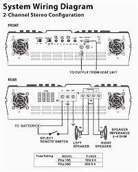 subwoofer wiring diagrams beautiful car amplifier diagram ansis me