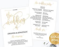 downloadable wedding programs wedding program printable template welcome wedding program
