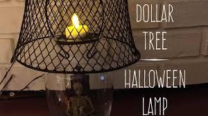 halloween lighted tree diy dollar tree halloween lamp decor 2017 youtube