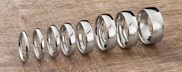 7mm ring wedding rings popular widths shown on the finger