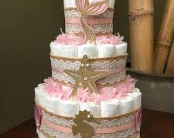 Diaper Cake Directions Mermaid Diaper Cake