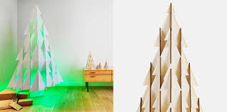 odenneboom christmas tree made from 100 recyclable ridged