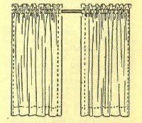 Easy Sew Curtains How To Sew Curtains With Easy Sewing Projects And Instructions