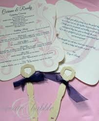 Cheap Wedding Program Fans Fancy Wedding Program Fans Allfreediyweddings Com