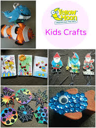 having fun with yellow moon kids crafts serenity you
