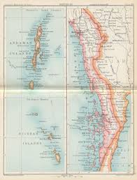 India Physical Map by Historical Maps Of India