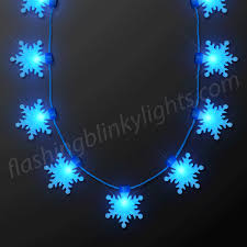 snowflake lights snowflake lights necklace at flashingblinkylights