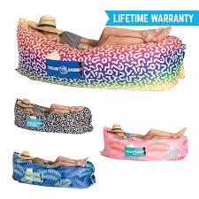 chillbo baggins inflatable lounge bag hammock air sofa and pool