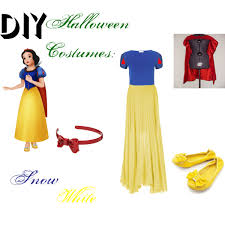 Red White Blue Halloween Costumes Diy Halloween Costumes Snow White Polyvore