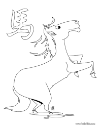 the year of the horse coloring pages hellokids com