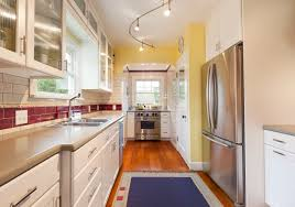 what is the best lighting for a galley kitchen what is a galley kitchen