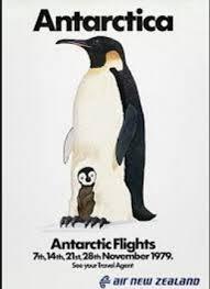 vintage home decor nz flight te901 to antarctica penguins new zealand nz vintage retro