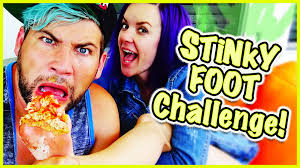 stinky feet challenge who u0027s foot stinks the most