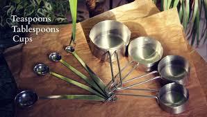 conversion cuisine gramme tasse les mesures anglaises teaspoons tablespoons cups késako les