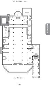 basilica floor plan the wanderer u0027s guide to lucca brian robert lindquist
