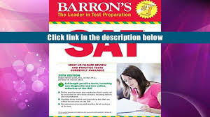 download sat 29th ed w online test barron s sat sharon green