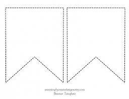 template diy best 25 pennant template ideas on pennant banner
