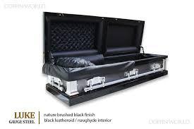black casket luke metal casket caskets