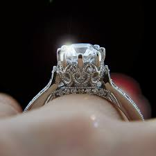 crown wedding rings crown vintage engagement ring crown ring and engagement