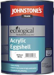johnstone u0027s acrylic eggshell in colours discount trade paint